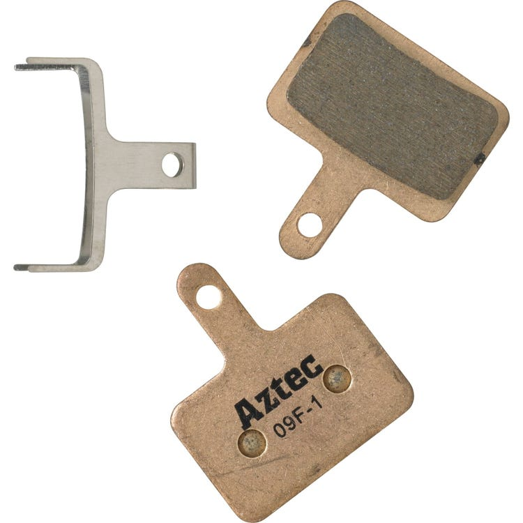 Aztec Sintered disc brake pads for Shimano Deore M515/M475/C501/C601 Mech/M525