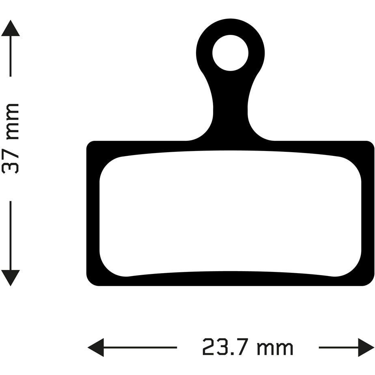 Aztec Organic disc brake pads for Shimano 2011 XTR (985 series) callipers