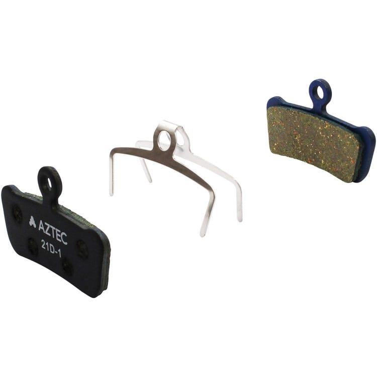 Aztec Organic disc brake pads for Avid XO Trail, Sram Guide