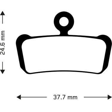 Sintered disc brake pads for Avid XO Trail, Sram Guide