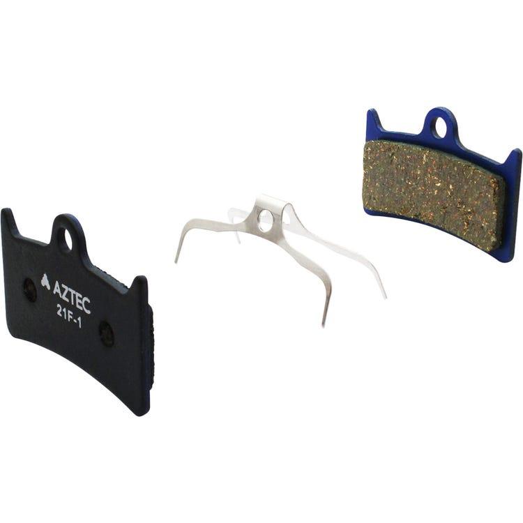 Aztec Organic disc brake pads for Hope V4 callipers