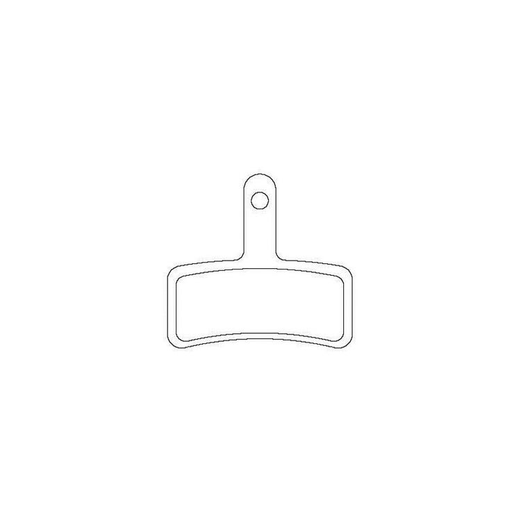 Aztec Sintered disc brake pads for Tektro Dorado callipers