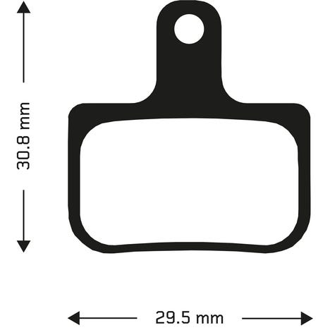 Aztec Sintered disc brake pads for Sram DB1 and DB3 callipers