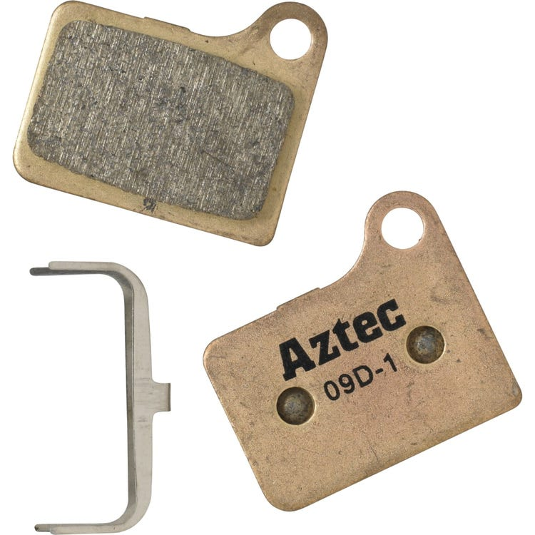 Aztec Sintered disc brake pads for Shimano Deore M555 hydraulic / C900 Nexave