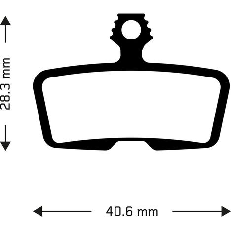 Sintered disc brake pads for Avid Code 2011+