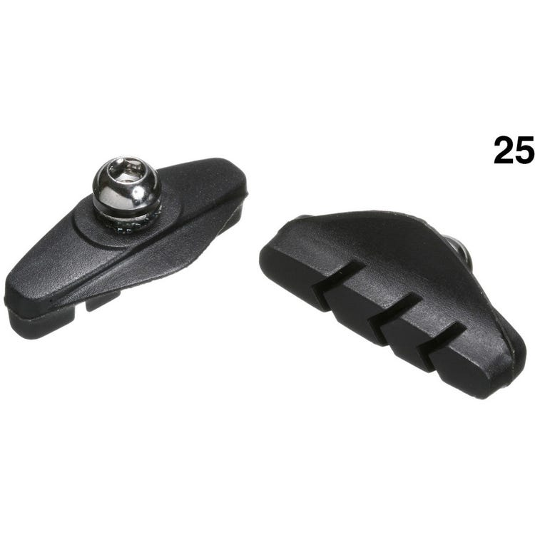 Aztec Control Block Calliper Brake Blocks For Road  - W/Shop Pack of 25 Pairs