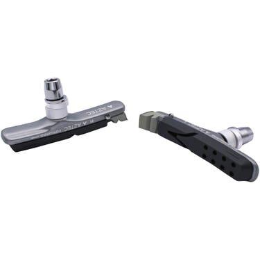 V-type cartridge system Kevlar Plus brake blocks with rim rake