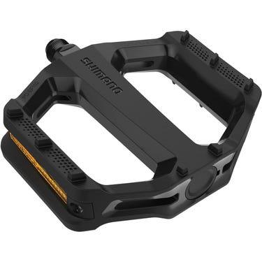 PD-EF102 flat pedals, resin, black