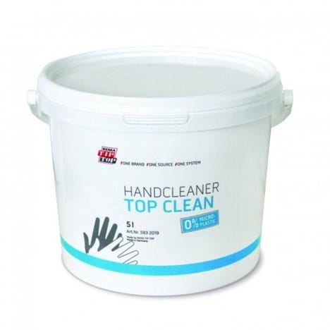Top Clean Hand Cleaner 5 Litre Tub (now 100% plastic micro-particle free)