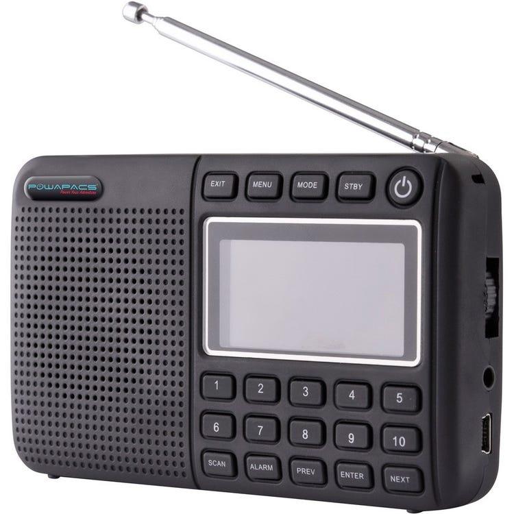 Powapacs  DAB+ FM Radio