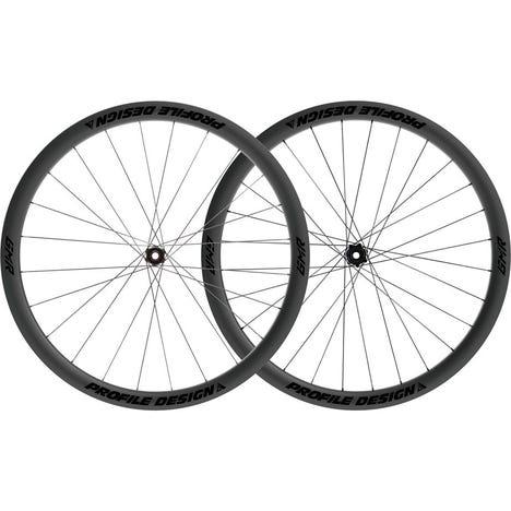 Profile Design GMR 38 Twenty Six Full Carbon Clincher Disc Brake Centre Lock Tubeless Wheelset