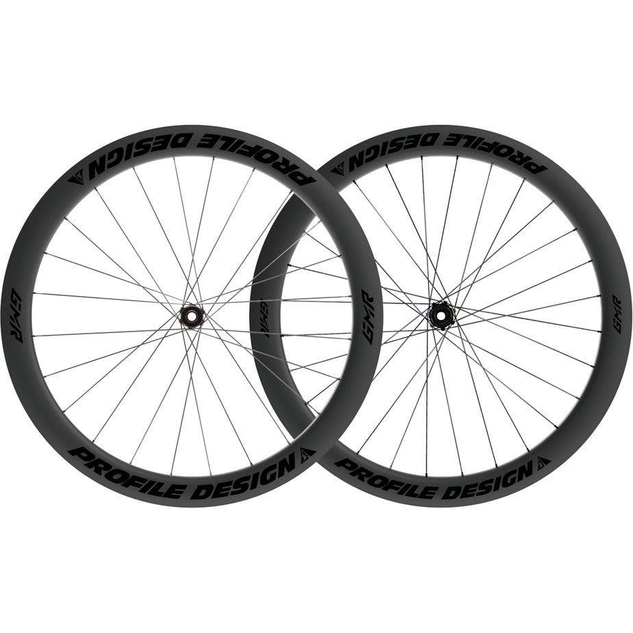 Profile Design GMR 50 Twenty Six Full Carbon Clincher Disc Brake Centre Lock Tubeless Wheelset