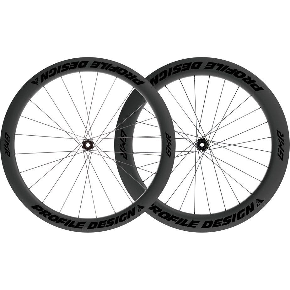 Profile Design GMR 50/65 Twenty Six Full Carbon Clincher Disc Brake Centre Lock Tubeless Wheels