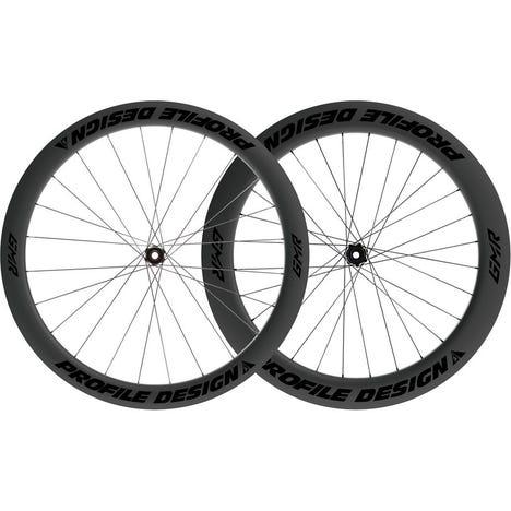 Profile Design GMR 50/65 Twenty Six Full Carbon Clincher Disc Brake Centre Lock Tubeless Wheels