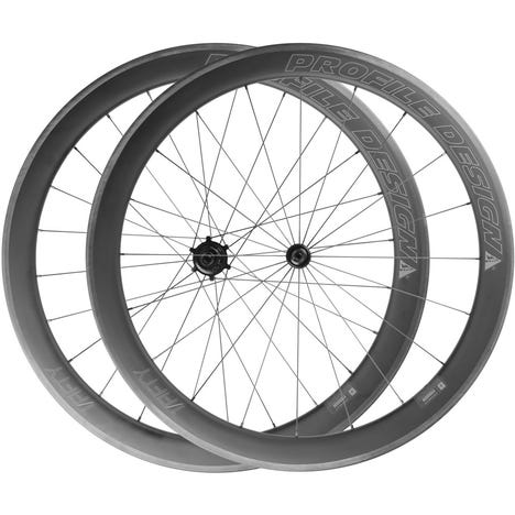 1 / Fifty Full Carbon Clincher Wheelset
