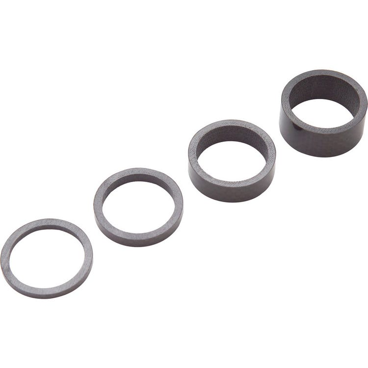 PRO Headset spacers, UD carbon, 3/ 5/ 10/ 15mm, 1-1/8 inch