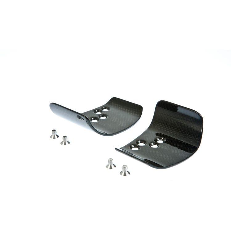 PRO Missile/Synop Carbon Armrests (No Pads), Large