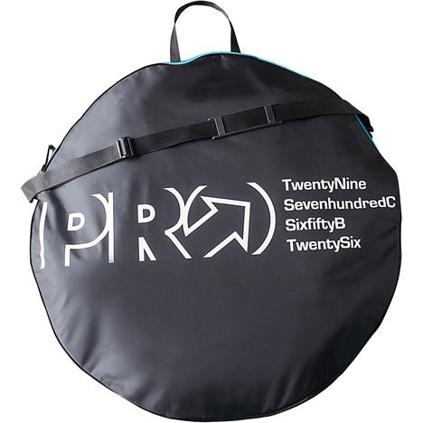 """Double Wheel Bag, Up to 29"""""""
