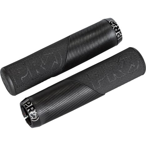 Trail Lock On Grips, without Flange, 32mm, Black