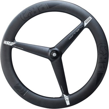 PRO 3K Carbon 3-spoke wheel - front - tubular