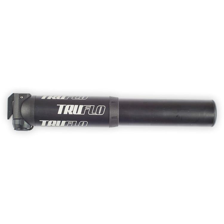 Truflo MiniMTN high volume pump with flexi head, presta & Schrader, black