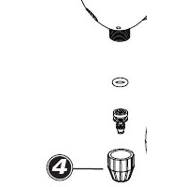 1072 - head / hose compression fitting PFP-4