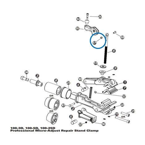 1965 - Handle Screw Cap - 100-3D/5D/25D, 100-7X