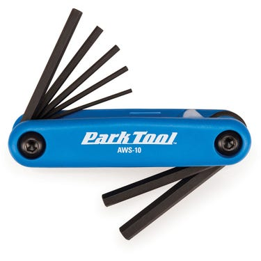 AWS-10 - Fold-Up Hex Wrench Set