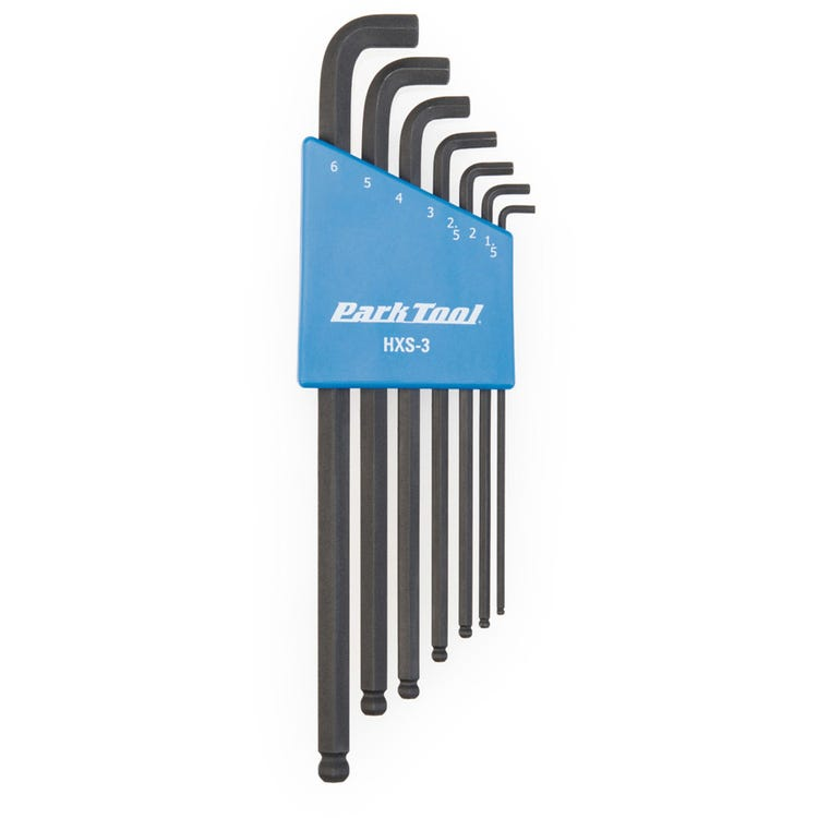 Park Tool HXS-3 - Stubby Hex Wrench Set