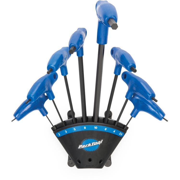 Park Tool PH-1.2 - P-Handled Hex Wrench Set with Holder