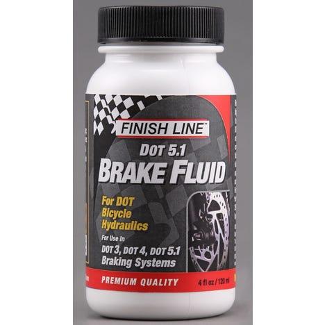 DOT 5.1 Brake Fluid-  4 oz / 120 ml