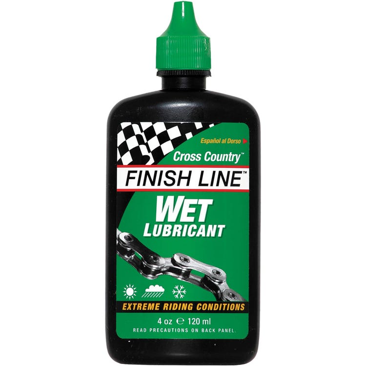 Finish Line Wet Chain Lube (Cross Country) - Drip Bottle