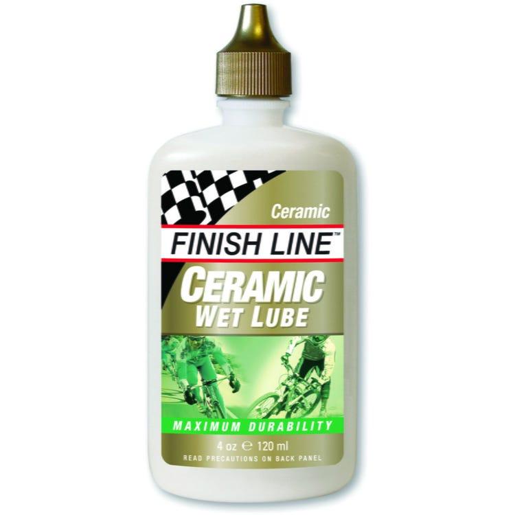 Finish Line Ceramic Wet Chain Lube - 2 oz / 60 ml Bottle