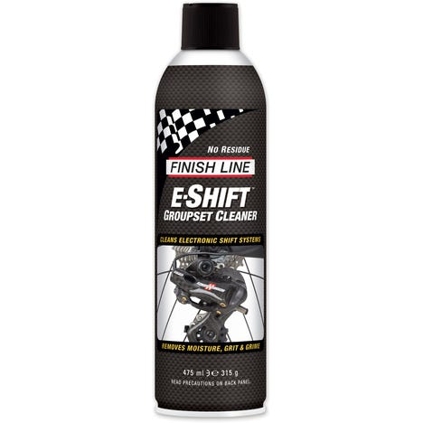 Finish Line E-Shift Groupset Cleaner Aerosol - 16 oz / 550 ml