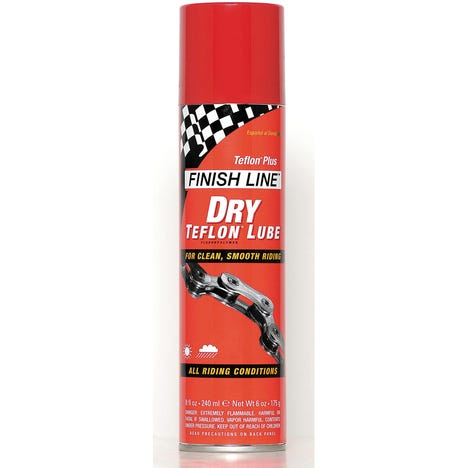 Finish Line Dry Chain Lube (Teflon Plus) - Aerosol