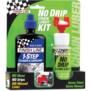No Drip Chain Lube Kit - 1-Step Cleaner and Lube / No Drip Chain Luber