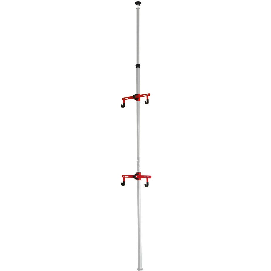 Gear Up Platinum Steel Floor-to-Ceiling rack