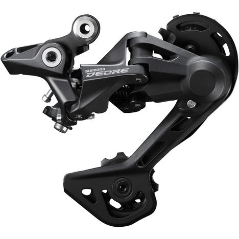 Deore M4120 rear derailleur, 10/11-speed, Shadow design, SGS long cage