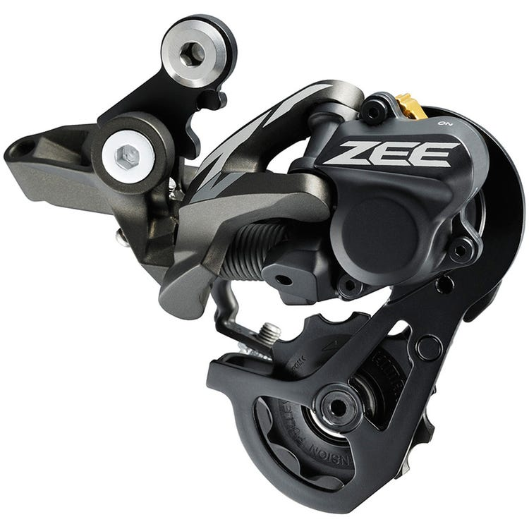 Shimano ZEE RD-M640 ZEE 10-speed Shadow+ design rear derailleur, SS 23-28T