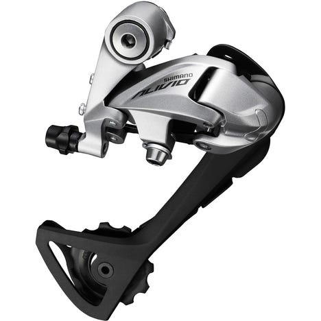 RD-T4000 Alivio 9-speed rear derailleur, SGS, top normal, silver