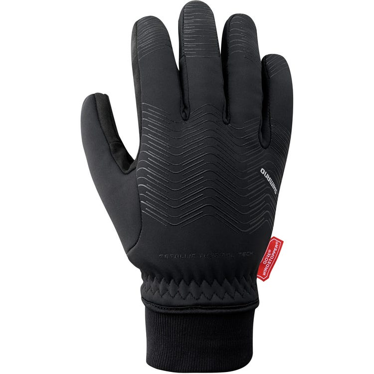 Shimano Clothing Unisex WINDSTOPPER® Thermal Reflective Gloves
