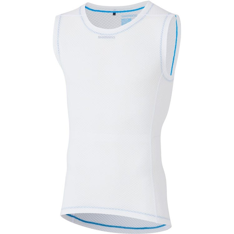 Shimano Clothing Men's Sleeveless Mesh Baselayer