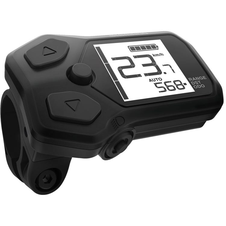 Shimano STEPS SC-E5000 assist switch with cycle computer, 22.2 mm clamp band