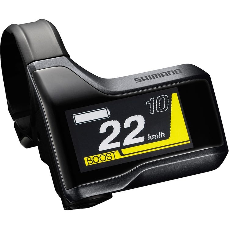Shimano STEPS SC-E8000 STEPS cycle computer display, for 31.8 mm / 35 mm
