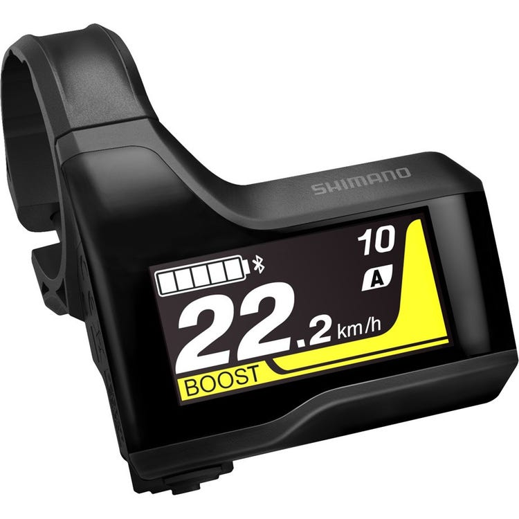 Shimano STEPS SC-EM800 cycle computer display, 31.8 / 35 mm clamp band