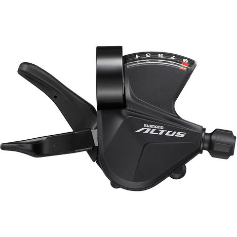 SL-M2010-9R Altus shift lever, band on, 9-speed, right hand