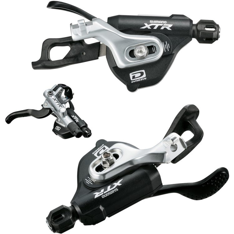 Shimano XTR SL-M980-I XTR 10-speed Rapidfire pods, 2nd generation I-spec-B mount, pair