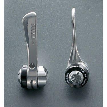 SL-R400 downtube shifters - braze-on, 8-speed
