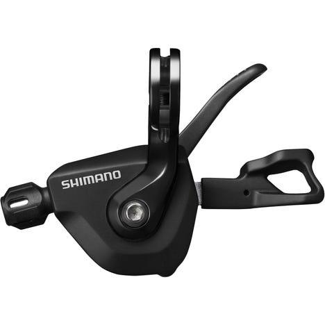 SL-RS700 I-Spec-II Flat Bar Shift Lever, 2-Speed Left Hand, Black