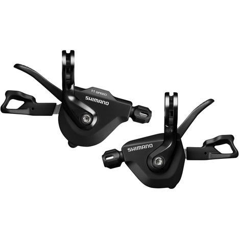 SL-RS700 flat bar shift levers, 11-speed pair, black